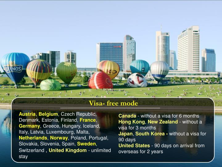 Visa- free mode