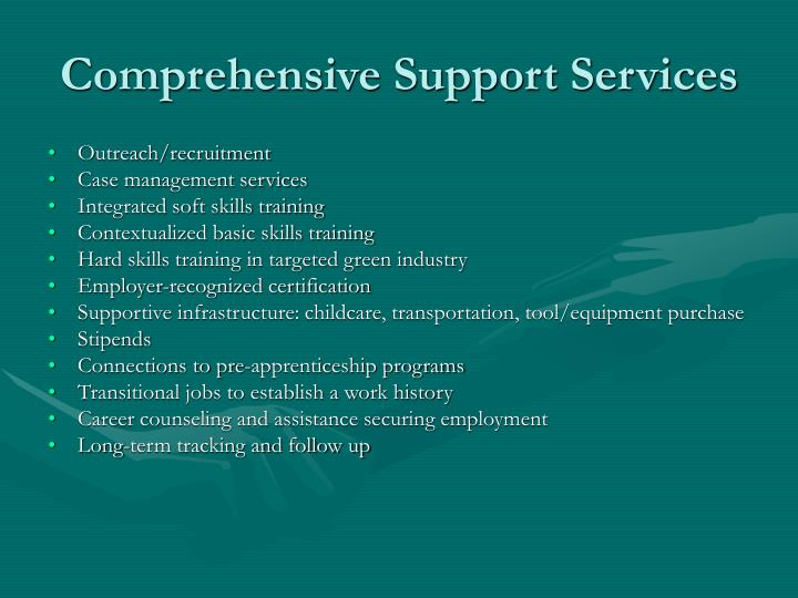 Comprehensive Support Services