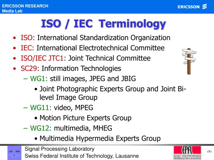 ISO / IEC  Terminology