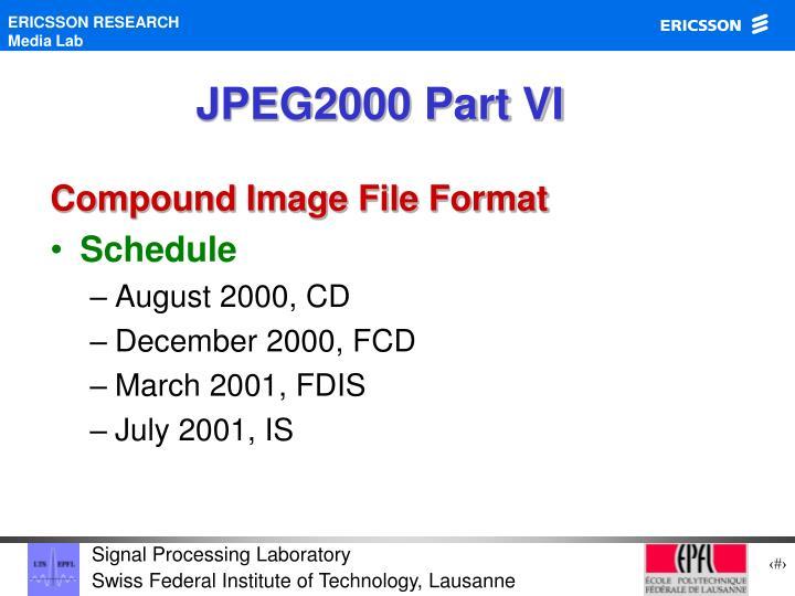 JPEG2000 Part VI