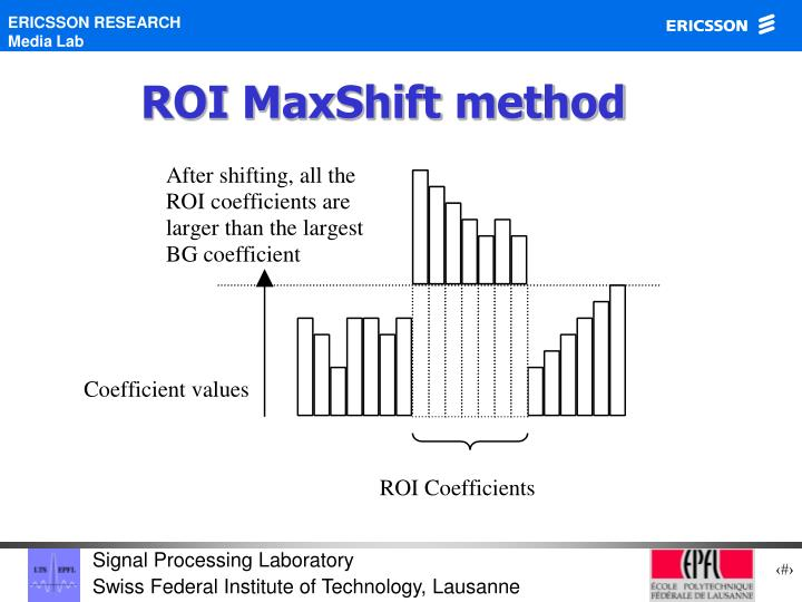 ROI MaxShift method