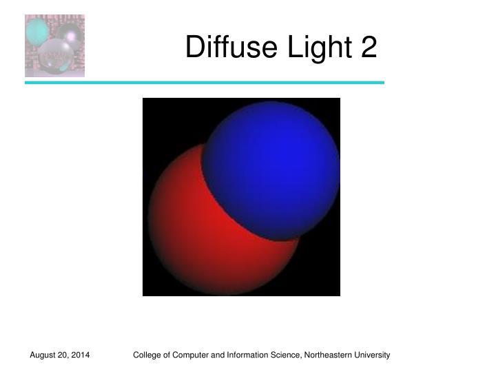 Diffuse Light 2