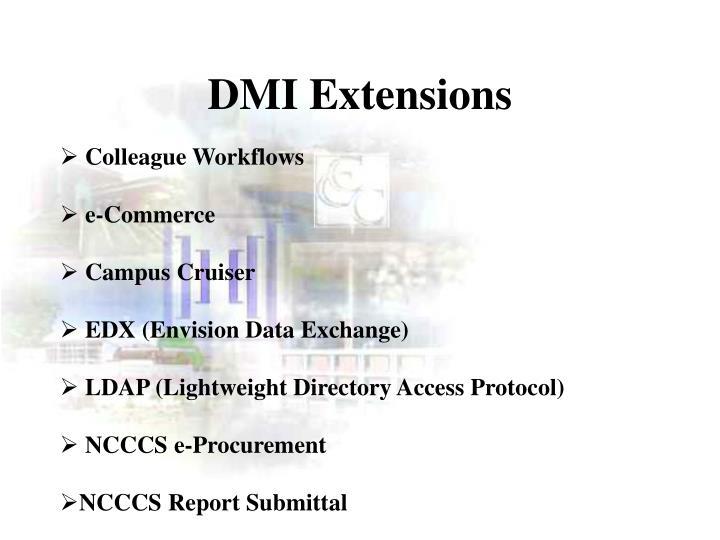 DMI Extensions
