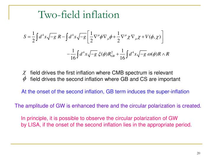 Two-field inflation