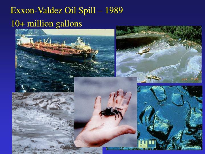 Exxon-Valdez Oil Spill – 1989