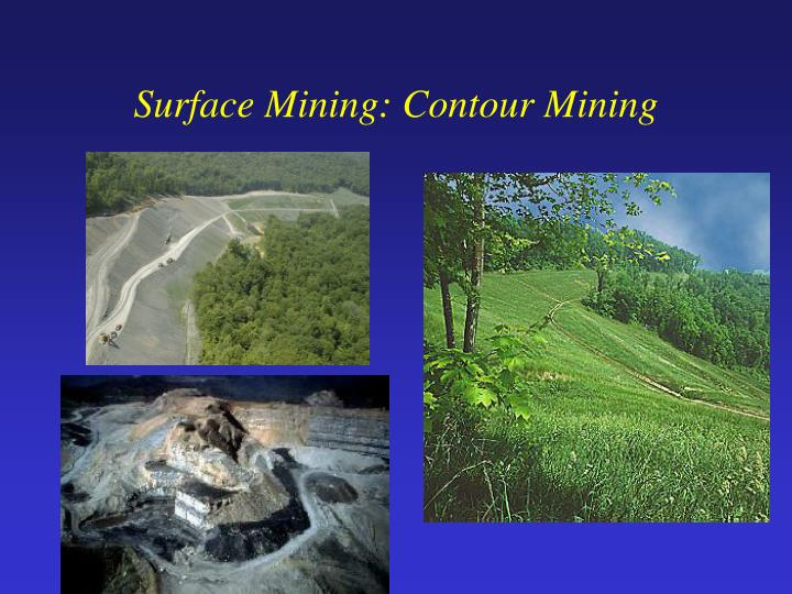 Surface Mining: Contour Mining