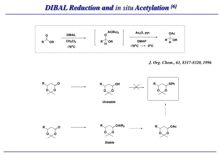 DIBAL Reduction and