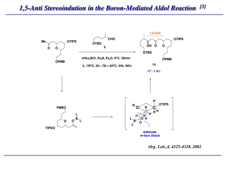 1,5-Anti Stereoindution in the Boron-Mediated Aldol Reaction
