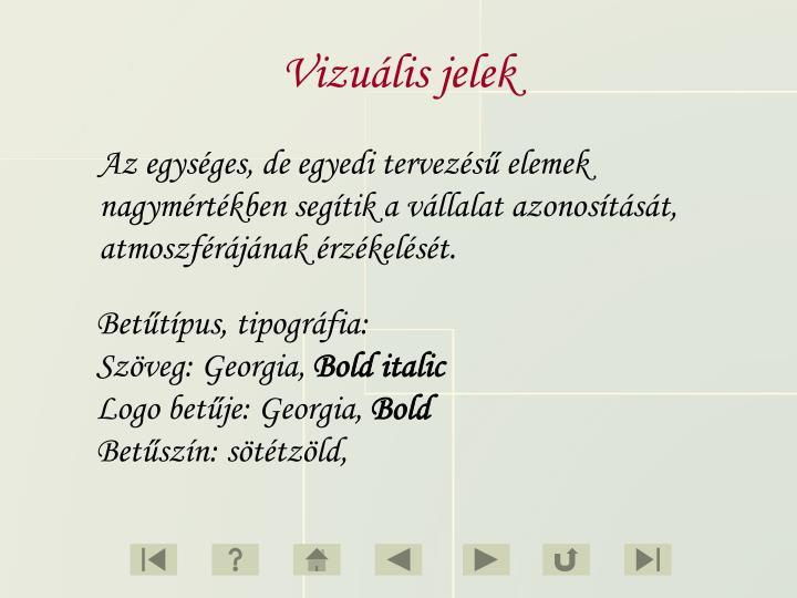 Vizuális jelek