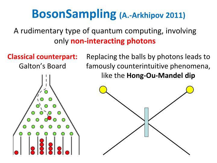 BosonSampling