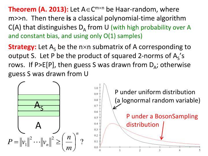 Theorem (A. 2013):
