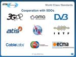 cooperation with sdos