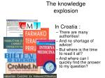 the knowledge explosion