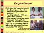 kangaroo support