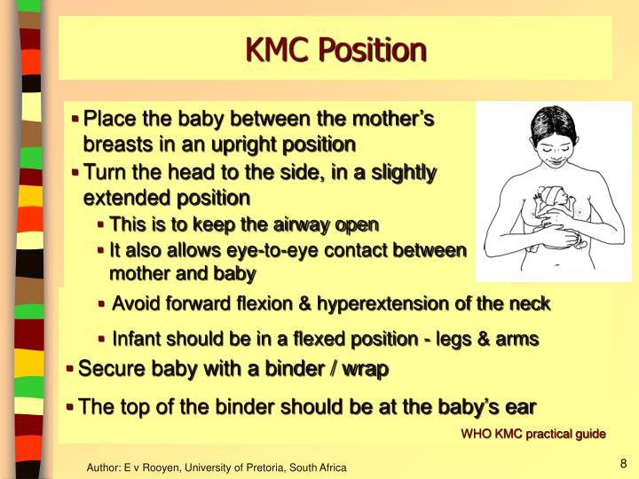KMC Position