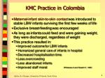 kmc practice in colombia