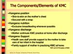 the components elements of kmc