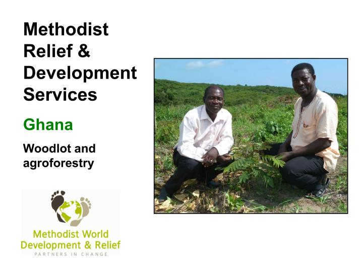 Methodist Relief & Development Services