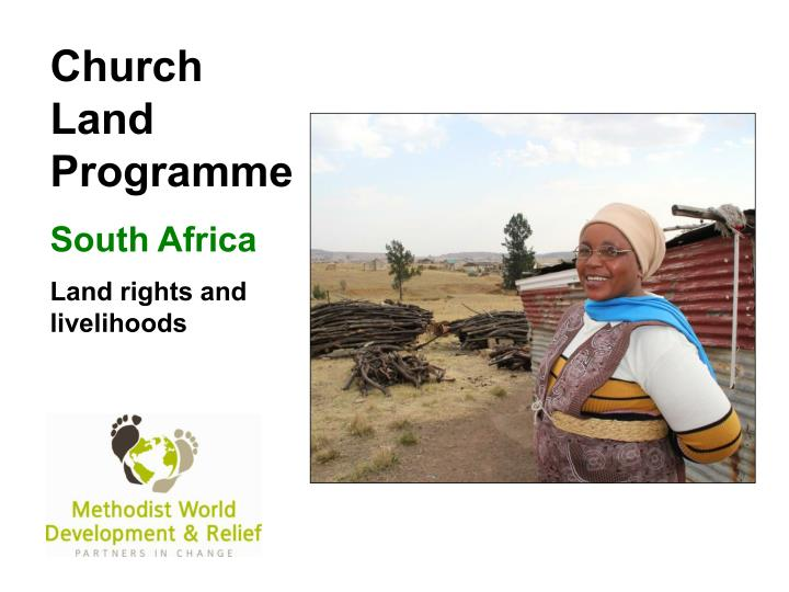 Church Land Programme