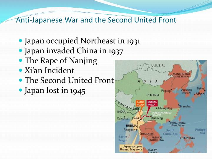 Anti-Japanese War and the Second United Front