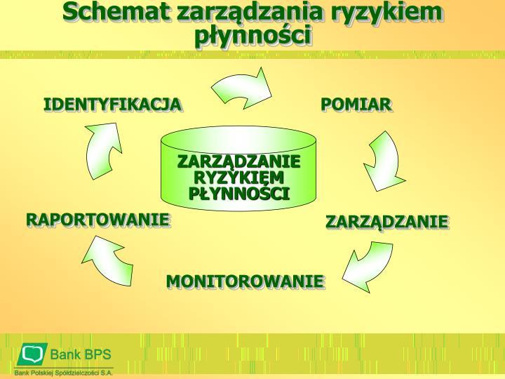 Schemat zarządzania ryzykiem płynności