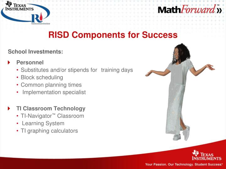 RISD Components for Success