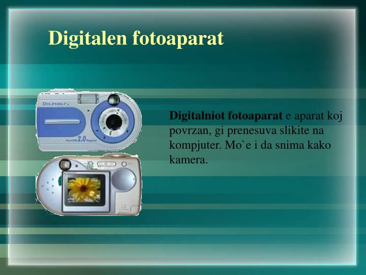 Digitalen fotoaparat