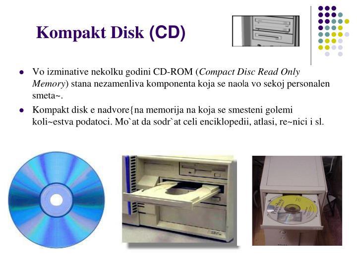 Kompakt Disk