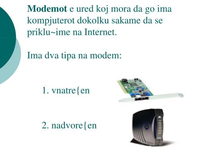 Modemot