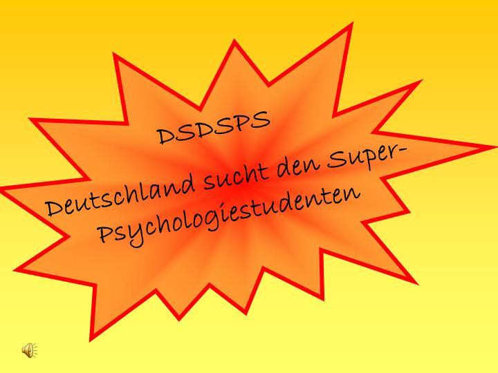 DSDSPS