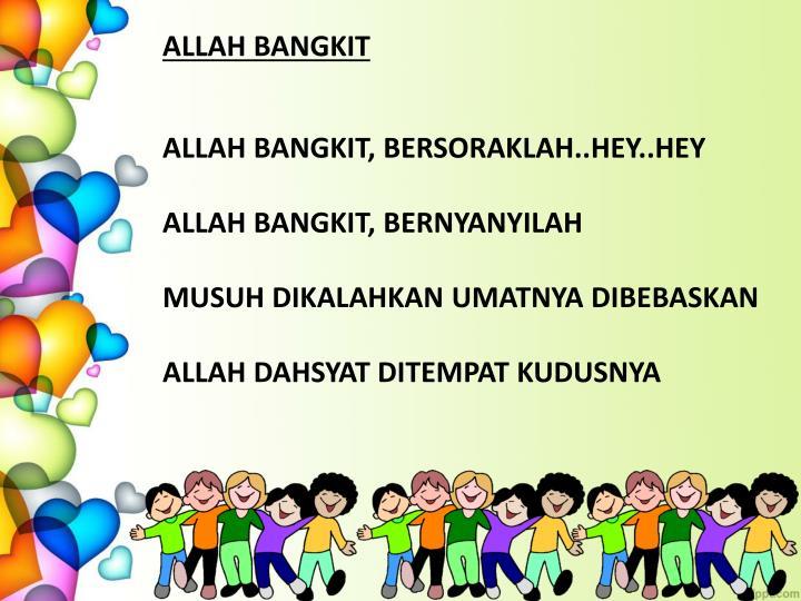ALLAH BANGKIT