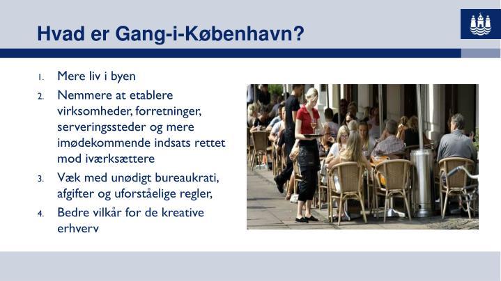 Hvad er Gang-i-København?