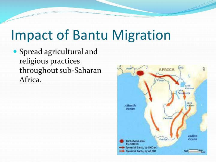 Impact of Bantu Migration