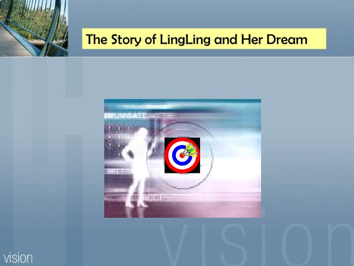 The Story of LingLing and Her Dream