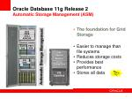 oracle database 11g release 2 automatic storage management asm