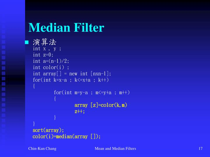 Median Filter