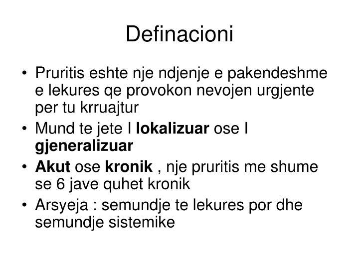 Definacioni