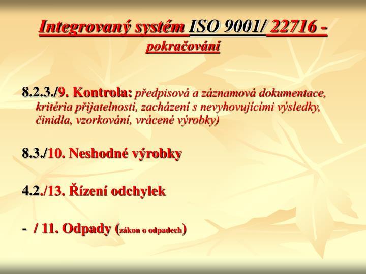 Integrovaný systém