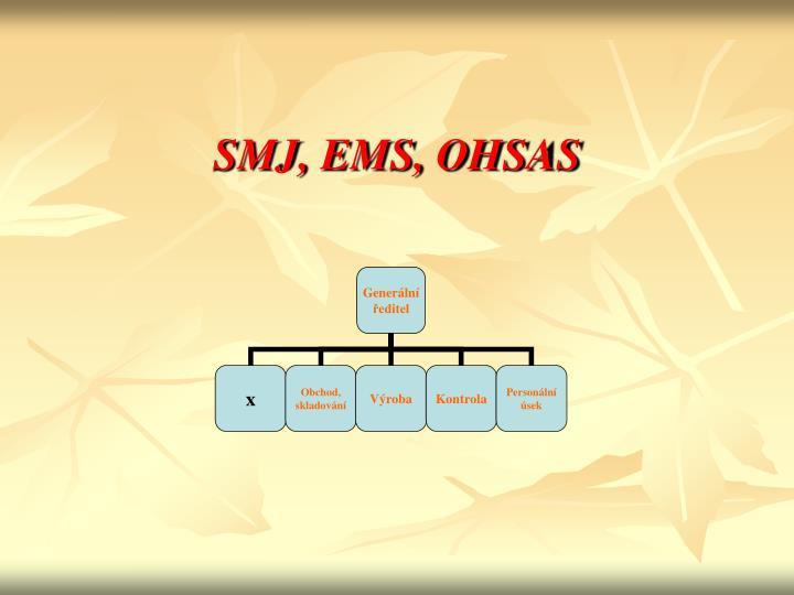 SMJ, EMS, OHSAS