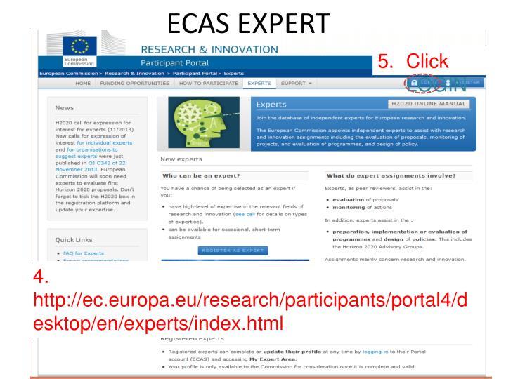 ECAS EXPERT