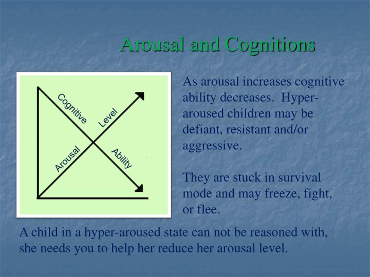 Arousal and Cognitions