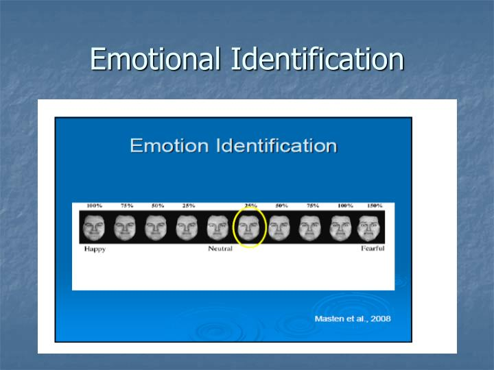 Emotional Identification