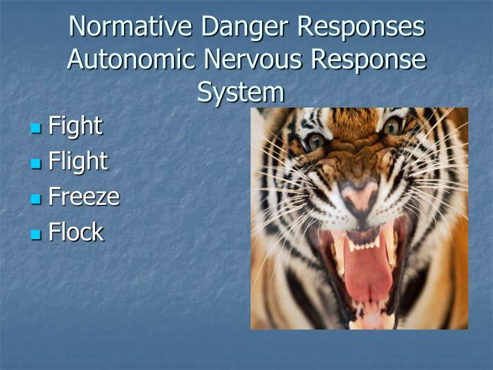 Normative Danger Responses