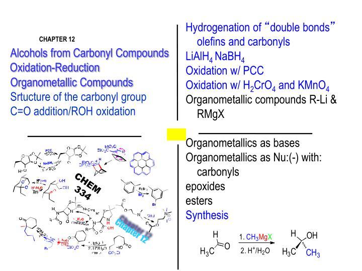 Hydrogenation of