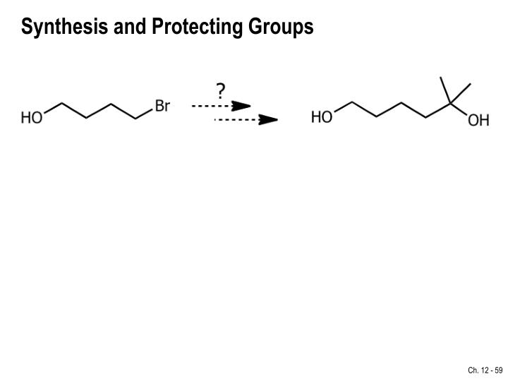 Synthesis and Protecting Groups