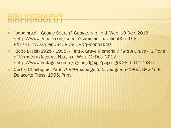"""""""bobo brazil - Google Search."""""""