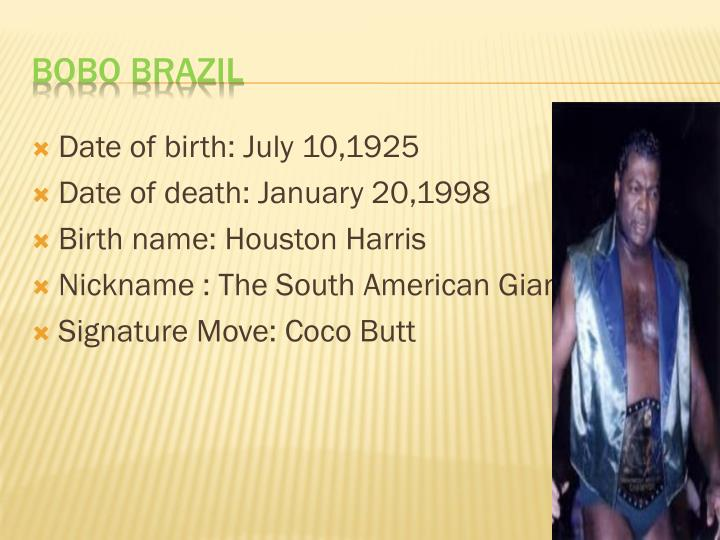 Date of birth: July 10,1925