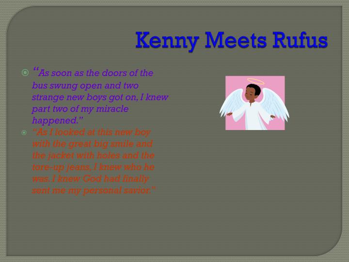 Kenny Meets Rufus