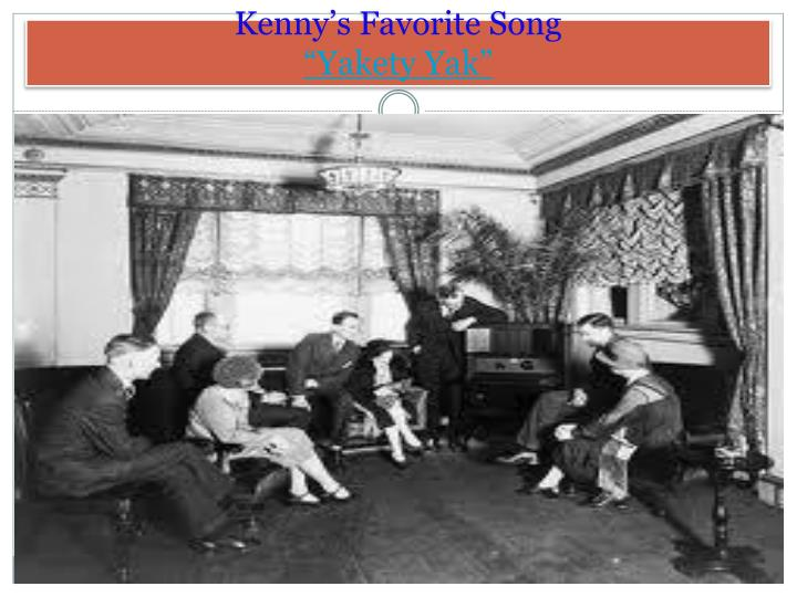 Kenny's Favorite Song