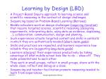 learning by design lbd